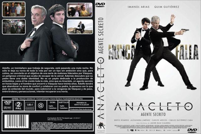 Anacleto Agente Secreto Custom Por Jonander1 - dvd