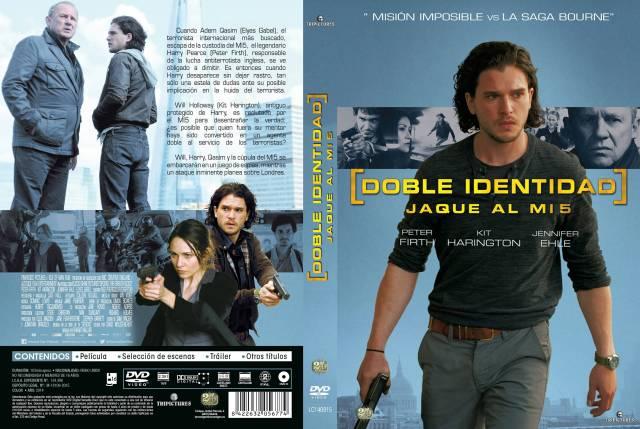 Doble Identidad Jaque Al Mi5 Custom Por Lolocapri - dvd