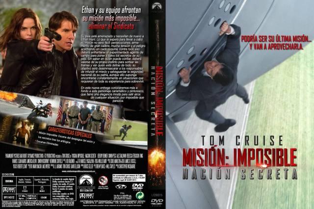 Mision Imposible Nacion Secreta Custom Por Lolocapri - dvd