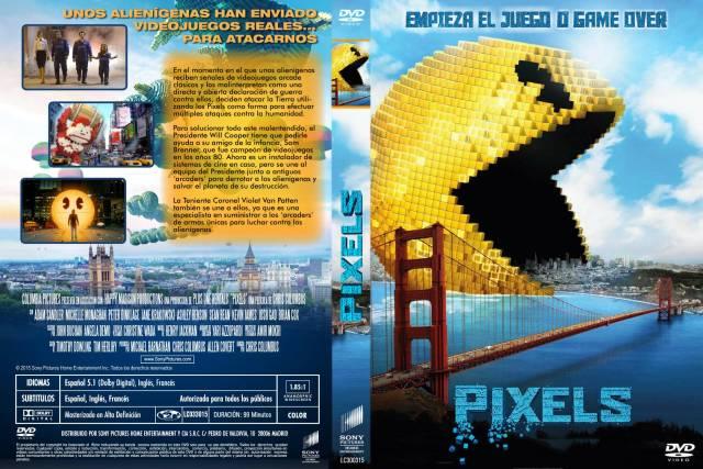 Pixels La Pelicula Custom Por Lolocapri - dvd