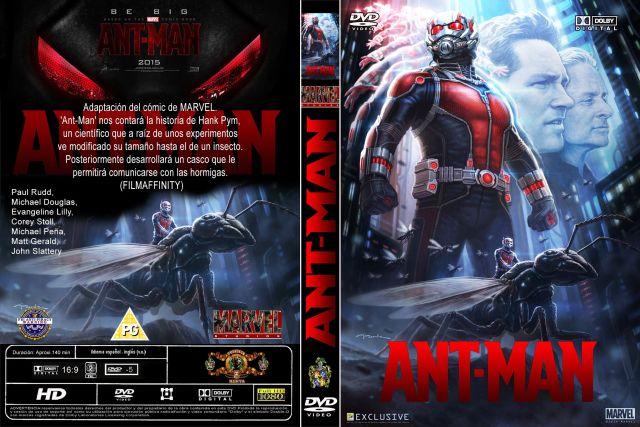 Ant Man Custom Por Menta - dvd