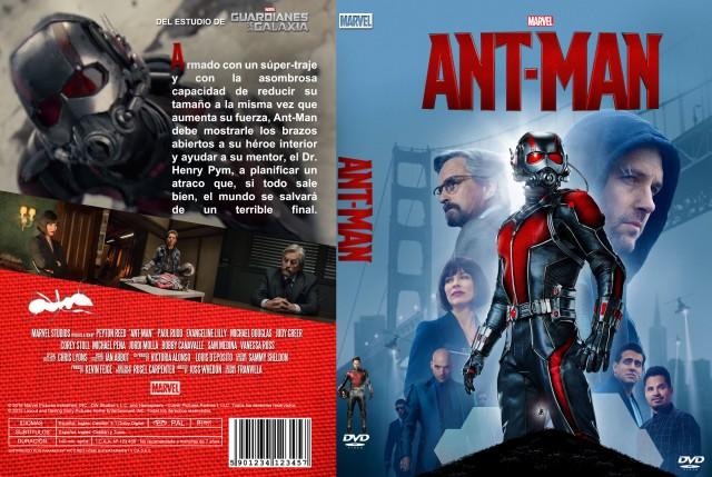 Ant Man Custom V2 Por Franvilla - dvd