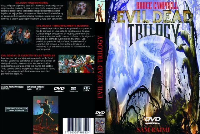 Evil Dead Trilogia Custom Por Darimax - dvd