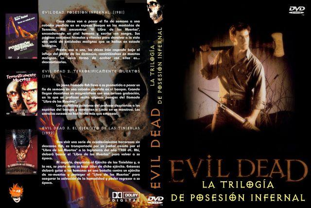 Evil Dead Trilogia Custom V2 Por Jjkasfer77 - dvd