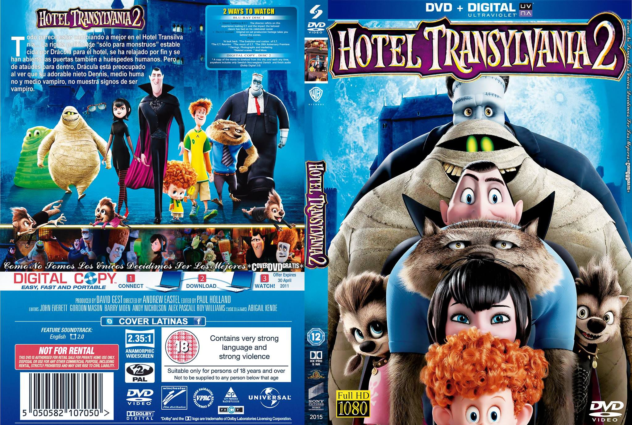 hotel transylvania 2 blu ray free download