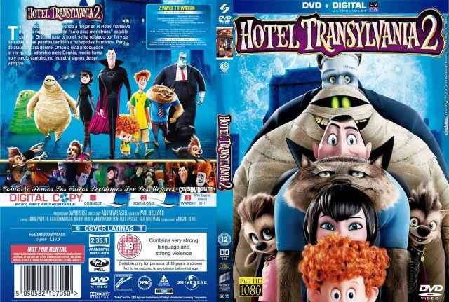 Hotel Transylvania  2 -CoveRdvdGratis.Com V2