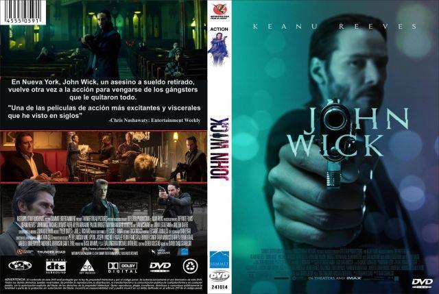 John Wick Custom Por Jonander1 - dvd