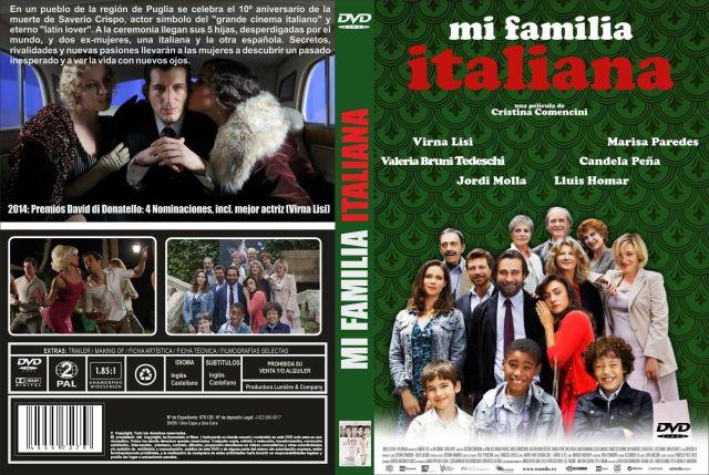 Mi Familia Italiana Custom Por Jonander1 - dvd