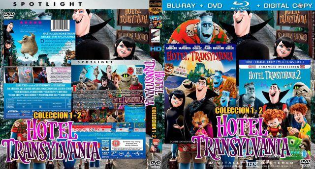 Pack_Hotel Transylvania 2x1 -CoveRdvdGratis.Com V1