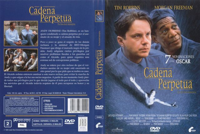Cadena Perpetua V2 Por Avutarda - dvd