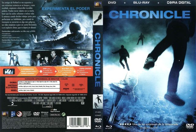 Chronicle Por Tara15 - dvd