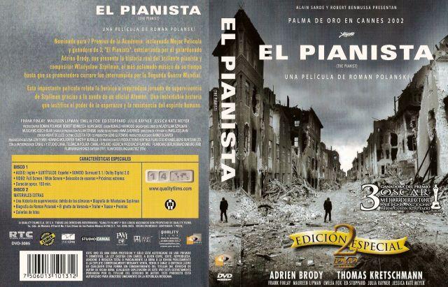 El Pianista 2002 Edicion Especial Region 1 4 Por Antonio75178 - dvd