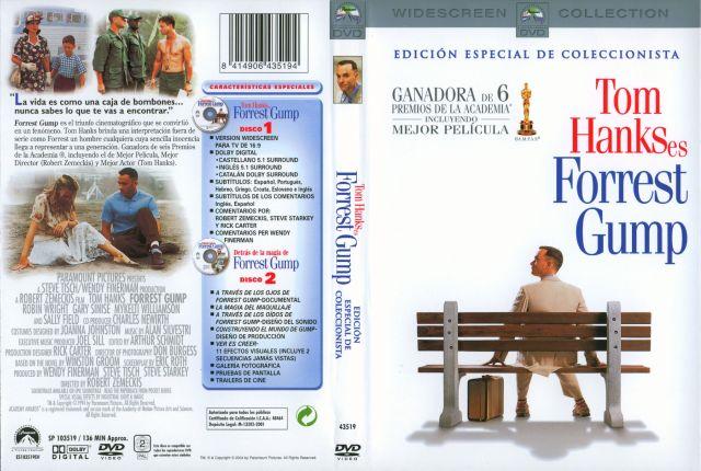 Forrest Gump Edicion Especial Coleccionistas Por Amtor - dvd