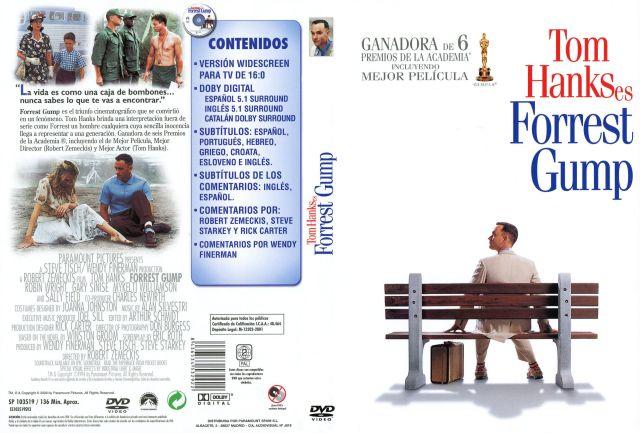 Forrest Gump Por Manmerino - dvd
