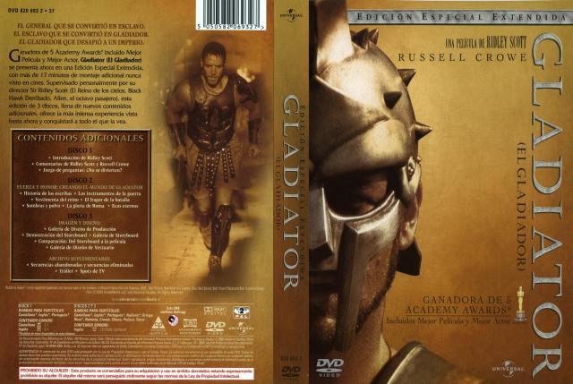 Gladiator El Gladiador Version Especial Extendida Por Malevaje - dvd