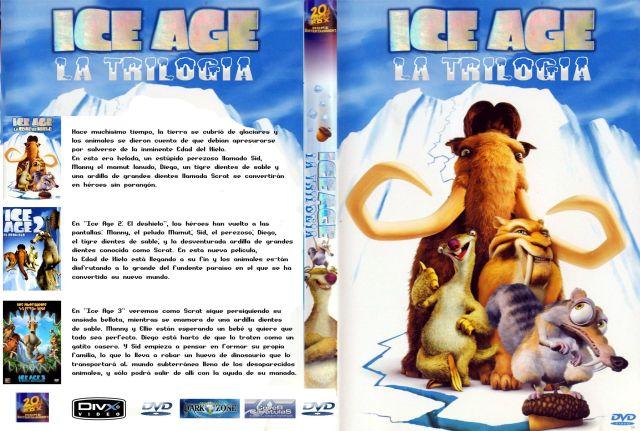 Ice Age Trilogia Custom Por Peedrosa - dvd