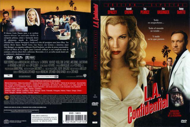 L A Confidential Edicion Especial Por Lukiluke - dvd