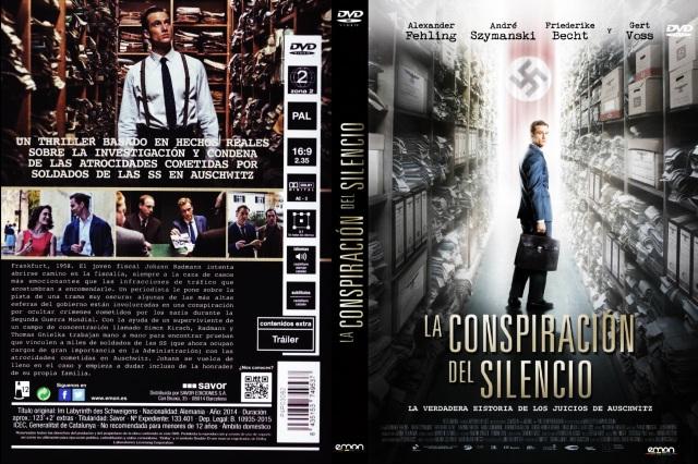 La Conspiracion Del Silencio 2014 Por Sergysamgar - dvd