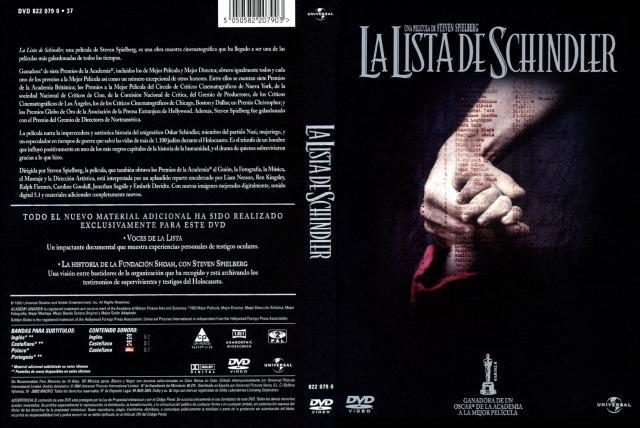 La Lista De Schindler Edicion Especial Por Usuarionuevo - dvd