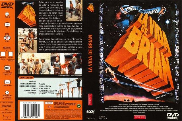La Vida De Brian Por Godbeat - dvd