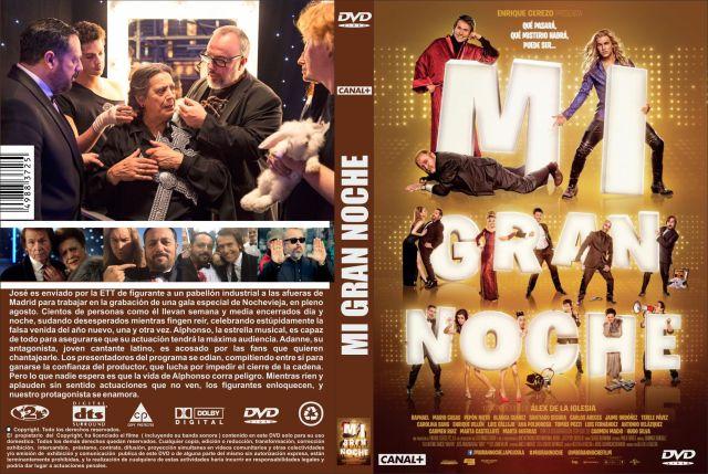 Mi Gran Noche Custom Por Jonander1 - dvd