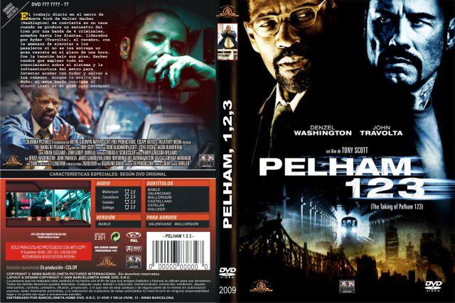 Pelham 123 2009 Custom Por Barceloneta - dvd