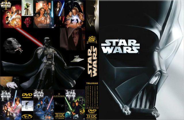 Star Wars Episodios I Ii Iii Iv V Vi Custom Por Sxandreps - dvd