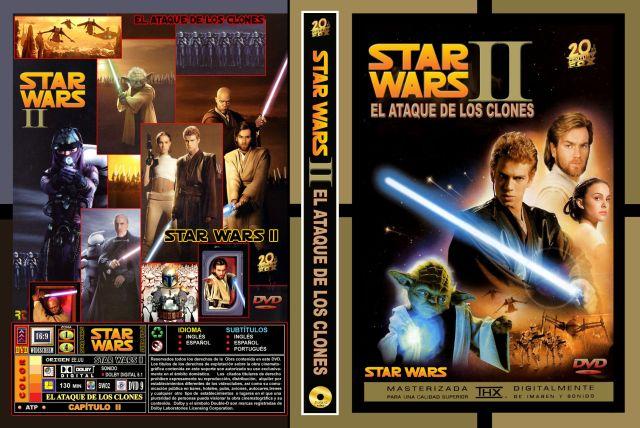 Star Wars Ii El Ataque De Los Clones Custom Por Rtavip - dvd