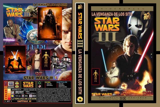 Star Wars Iii La Venganza De Los Sith Custom Por Rtavip - dvd