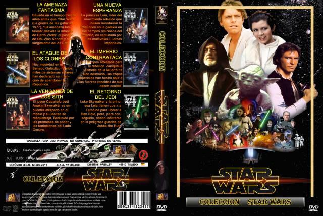 Star Wars La Saga Custom V3 Por Presley2 - dvd