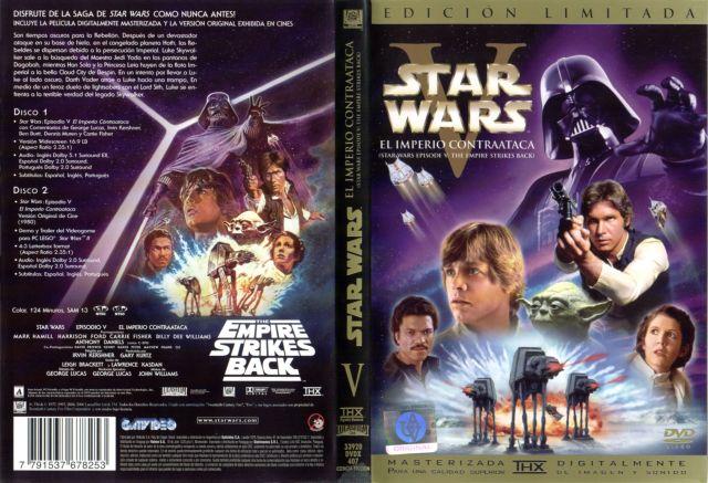 Star Wars V El Imperio Contraataca Edicion Especial Region 1 4 Por Mandels - dvd(1)