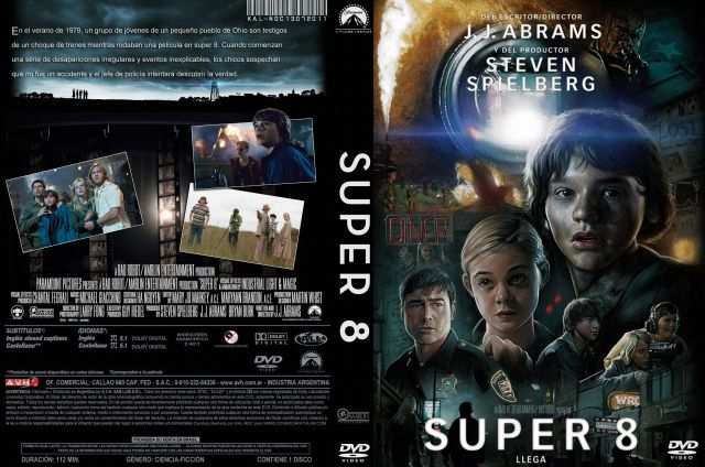 Super 8 Custom Por Kal Noc - dvd