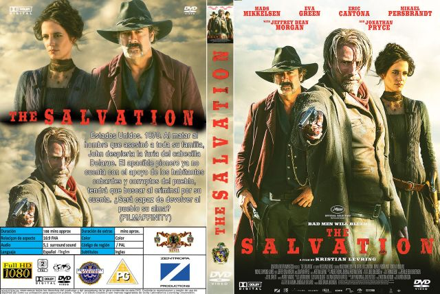 The Salvation Custom Por Menta - dvd