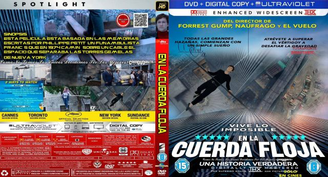 The Walk - En La Cuerda Floja -CoveRdvdGratis.Com V1
