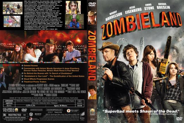 Zombieland Custom V2 Por Fox22 - dvd
