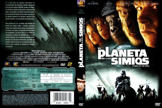 El Planeta De Los Simios 2001 Custom Por Marcemcfly - dvd