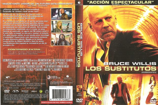 Los Sustitutos Por Ismute26 - dvd