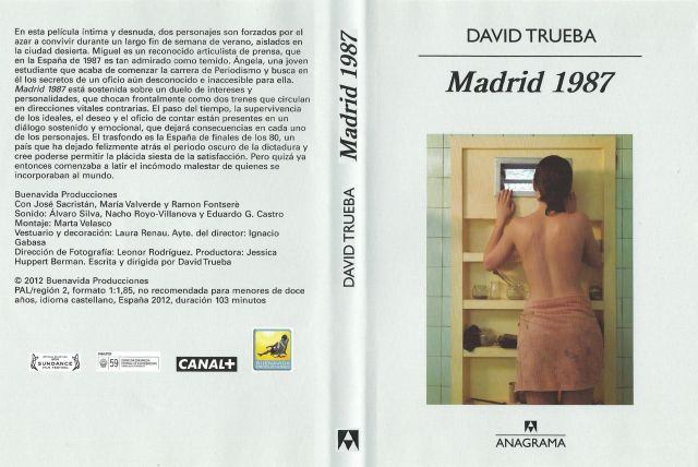 Madrid 1987 Custom V2 Por Condozco Jones - dvd