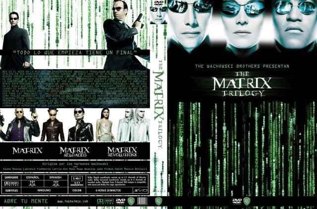 Matrix Trilogy Custom V2 Por Jmiclint - dvd