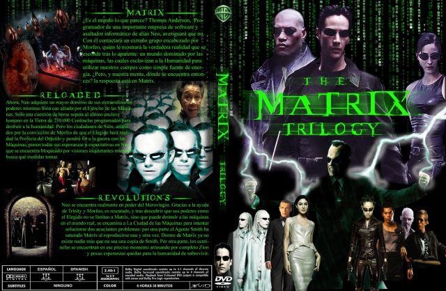 Matrix Trilogy Custom V3 Por Josebenito1979 - dvd