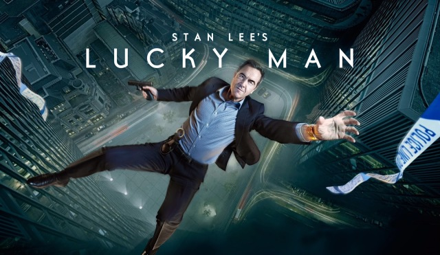 Stan Lee's Lucky Man billboard