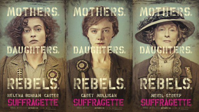 Suffragette-Posters
